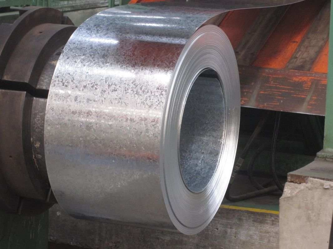 EN10147 Zero Spangle Hot Dipped Galvanized Steel Strip with Passivated and Oiled
