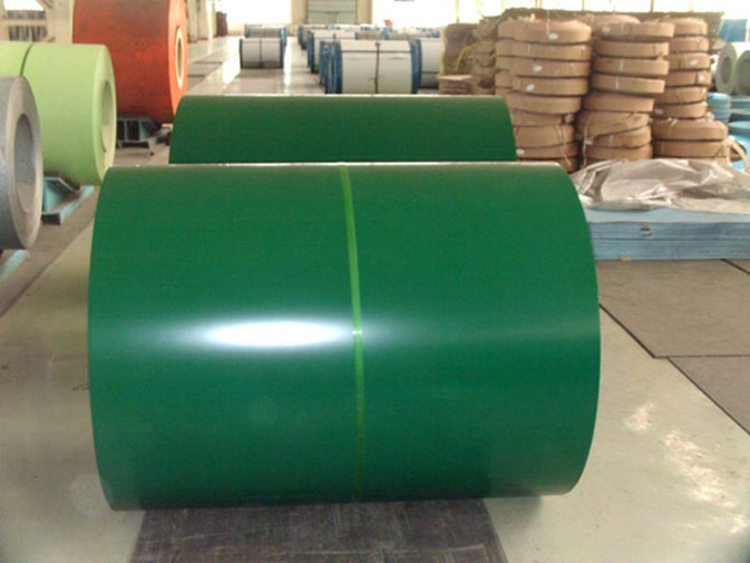 Cut Z60 To Z275 Zinc Coating Roofing Sheet Prepainted Color Steel Coils
