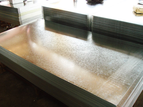JIS G3302, ASTM A653, EN 10147 Hot Dipped Galvanized Steel Sheet / Sheets  SPCC, SPCD