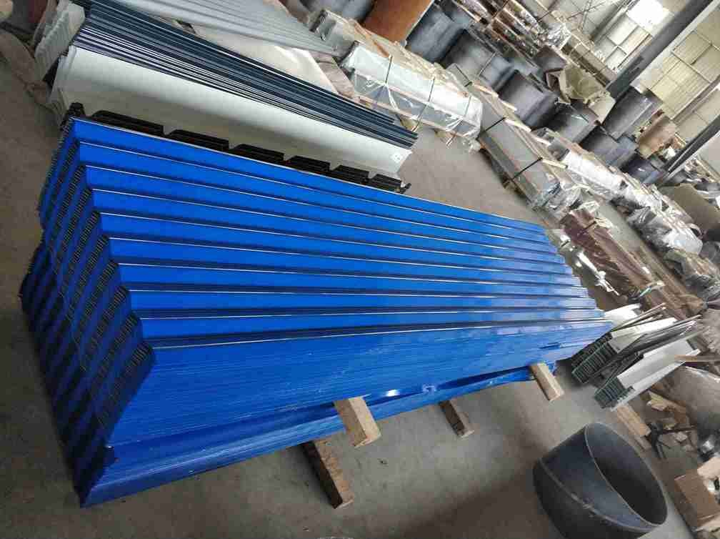 Wear Resistant Corrugated Steel Roof Sheets For Industrial And Civil Buildings
