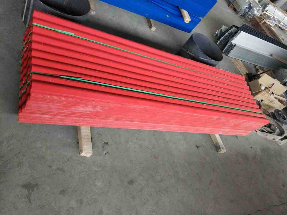 Hot Dipped Corrugated Roof Panels / Corrugated Steel Sheets 76mm Wave