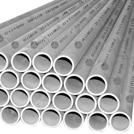 5.8M / 6M Length Seamless Stainless Steel Pipe With JISG3467, DIN17175, GB5310